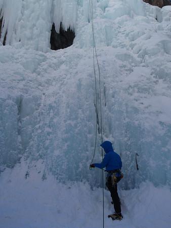 Ouray, CO Ice climbing 2.22/28 2012